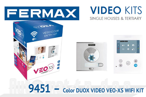 94511 - COLOUR DUOX VIDEO VEO-XS WIFI KIT 1 stan